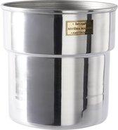 Rivièra Maison City Loft Flower Pot - S - Bloempot - Aluminium - Zilver