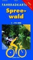 Spreewald 1 : 75 000 Fahrradkarte