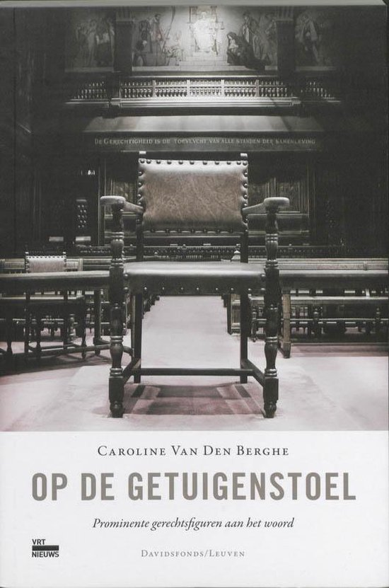 Op De Getuigenstoel - C. van den Berghe |