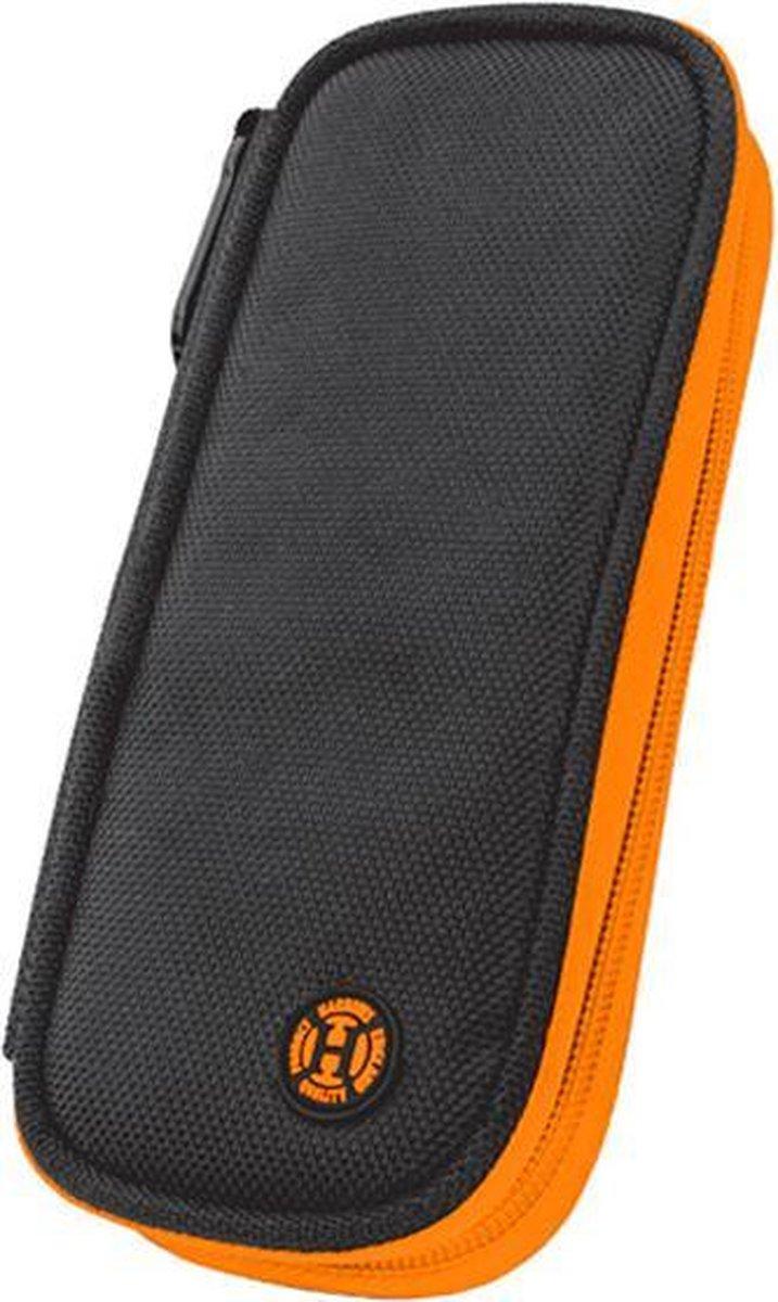 Wallet Z200, zipper, orange