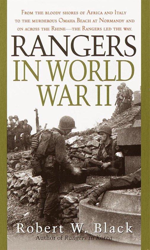Boek cover Rangers in World War II van Robert W. Black (Onbekend)