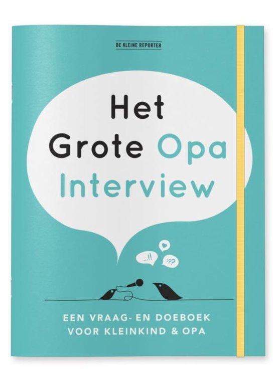 Het grote Opa Interview - Elma van Vliet |