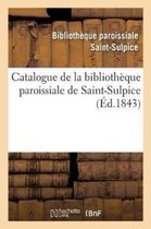 Catalogue de la Biblioth�que Paroissiale de Saint-Sulpice