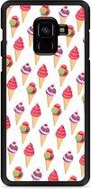 Galaxy A8 Plus 2018 Hardcase Hoesje Ice cream