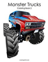 Monster Trucks Coloring Book 2
