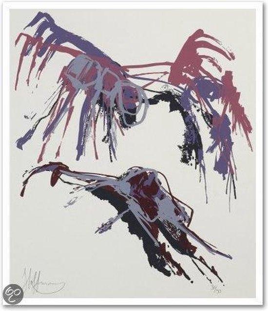 Claudia Hoffman Schilderij Zeefdruk 'Zonder titel'