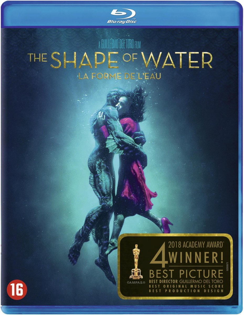 The Shape of Water (Blu-ray) - Film