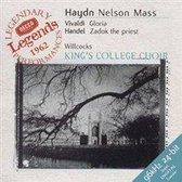 Haydn: Nelson Mass; Vivaldi: Gloria etc / Willcocks et al
