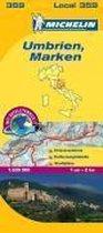 Michelin Localkarte Umbrien und Marken 1 : 200 000