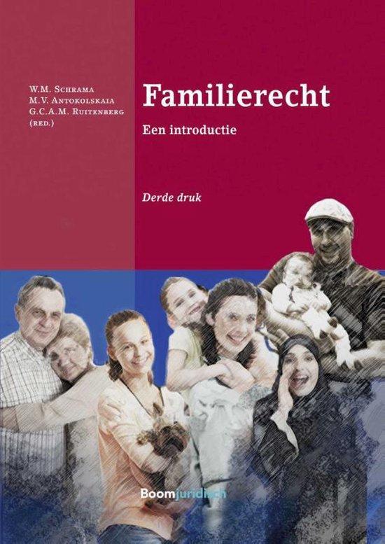 Boek cover Boom Juridische studiepockets - Familierecht van W.M. Schrama (Paperback)