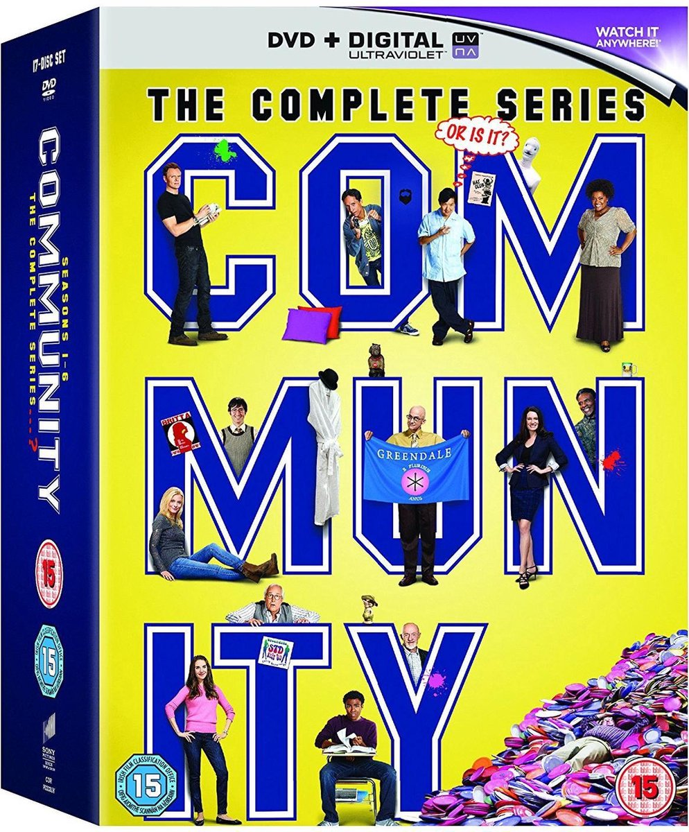 Community Season 1-6 [DVD] (import) -