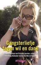 Boek cover Gangsterliefje tegen wil en dank van Priscilla Jourdan (Onbekend)