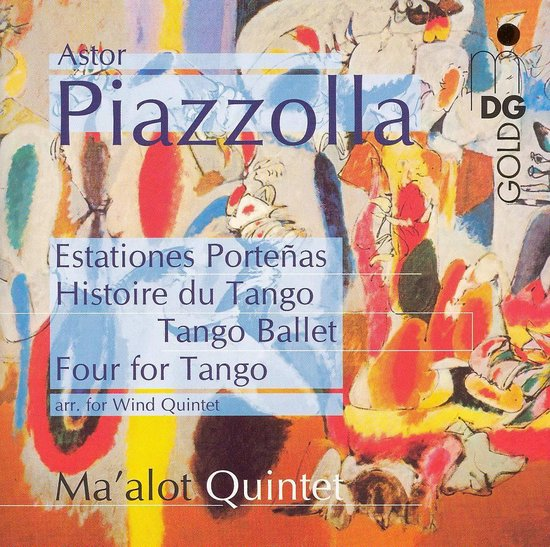 Histoire Du Tango: Arr. For Wind Qu
