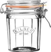 Kilner - Voorraadbokaal met Beugelsluiting - Facet Glas - 450 ml