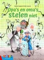 Leesserie Estafette - Opa's en oma's stelen niet