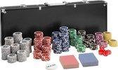 TecTake -  Pokerset 300-delig zwart - 402558