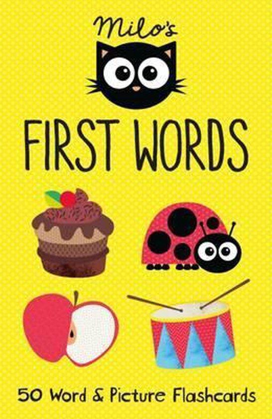Boek cover Milos First Words Flashcards van Faye Williamson (Onbekend)