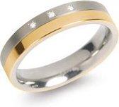 Boccia Titanium Ring bicolor Br 3/.015 - 0129-04