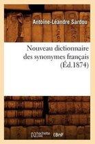 Nouveau dictionnaire des synonymes francais (Ed.1874)