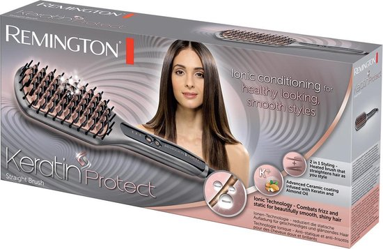 Remington CB7480 Keratin Protect Straight Brush - Stijlborstel
