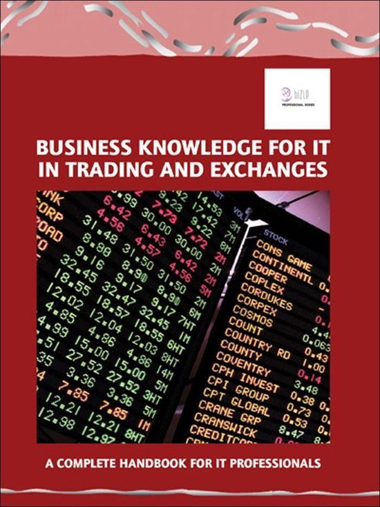 Business Knowledge for IT in Trading and Exchanges