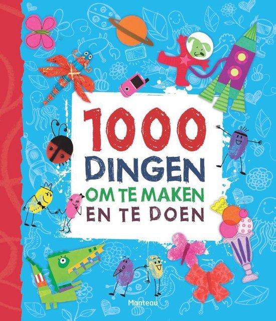 Cover van het boek '1000 dingen om te maken en te doen' van Fiona Watt