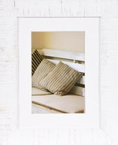 Fotolijst - Henzo - Driftwood - Fotomaat 15x20 - Wit