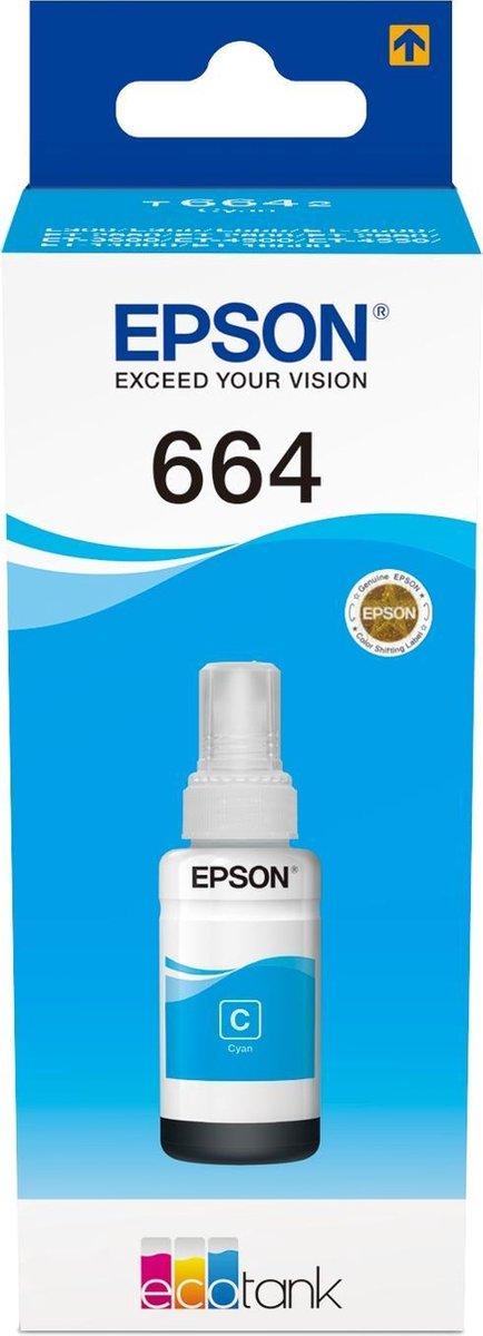 Epson T6642 EcoTank Cyan ink bottle - Epson