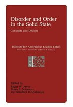 Disorder and Order in the Solid State