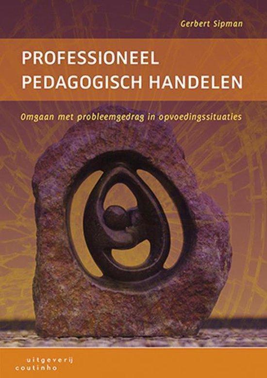 Professioneel pedagogisch handelen - Gerbert Sipman pdf epub