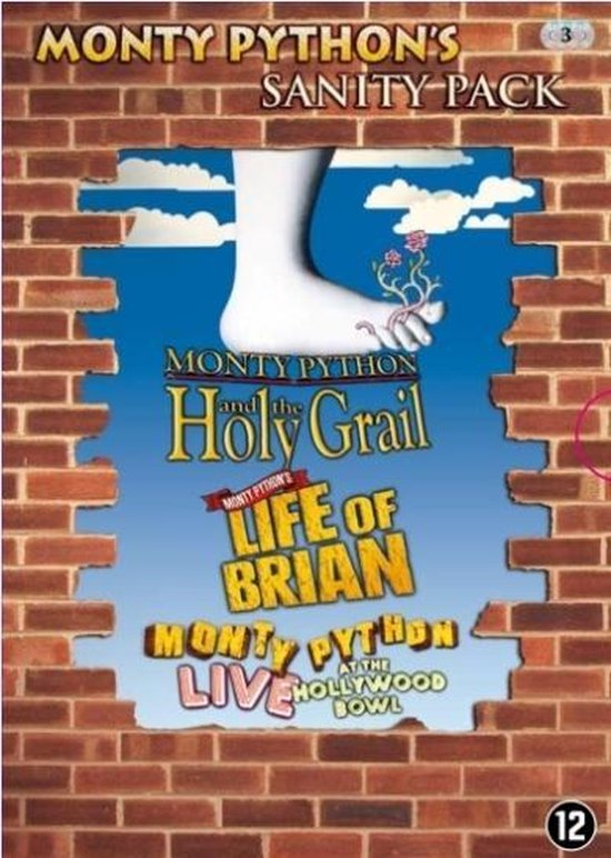 Cover van de film 'Life Of Brian/Monty Python Live/Holy Grail'