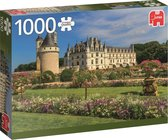 Castle in the Loire Kasteel in de Loire Jumbo Premium Collection Puzzel 1000 Stukjes