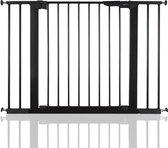 BabyDan Premier PLUS klemhekje met 4 spijlen 99-106,3cm -Antraciet / Zwart