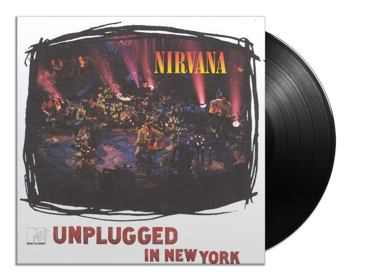 MTV Unplugged in New York (LP) - Nirvana