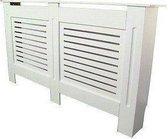 Radiatoromkasting   Radiatorombouw - 152 x 81,5 cm -  Wit geverfd