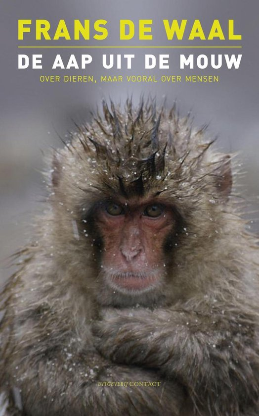 De aap uit de mouw - Frans de Waal | Fthsonline.com