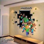 Portal Into Minecraft - 3D Plak Poster XL Versie