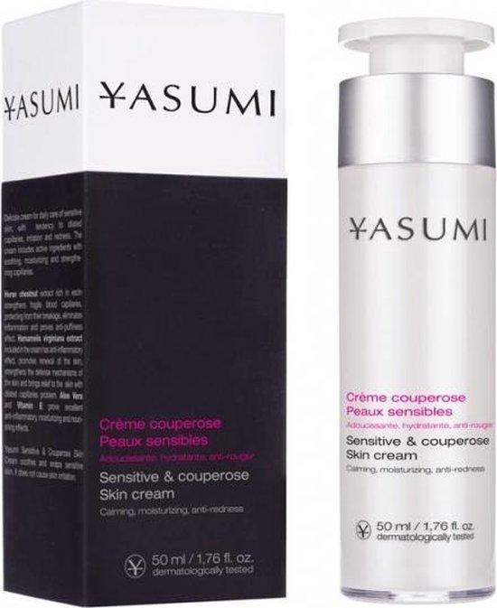 Yasumi Sensitive & Couperose Skin Cream 50ml.