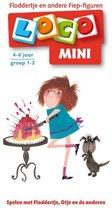 Boek cover Mini loco  -   Floddertje en andere Fiep-figuren van Uitgevers Noordhoff