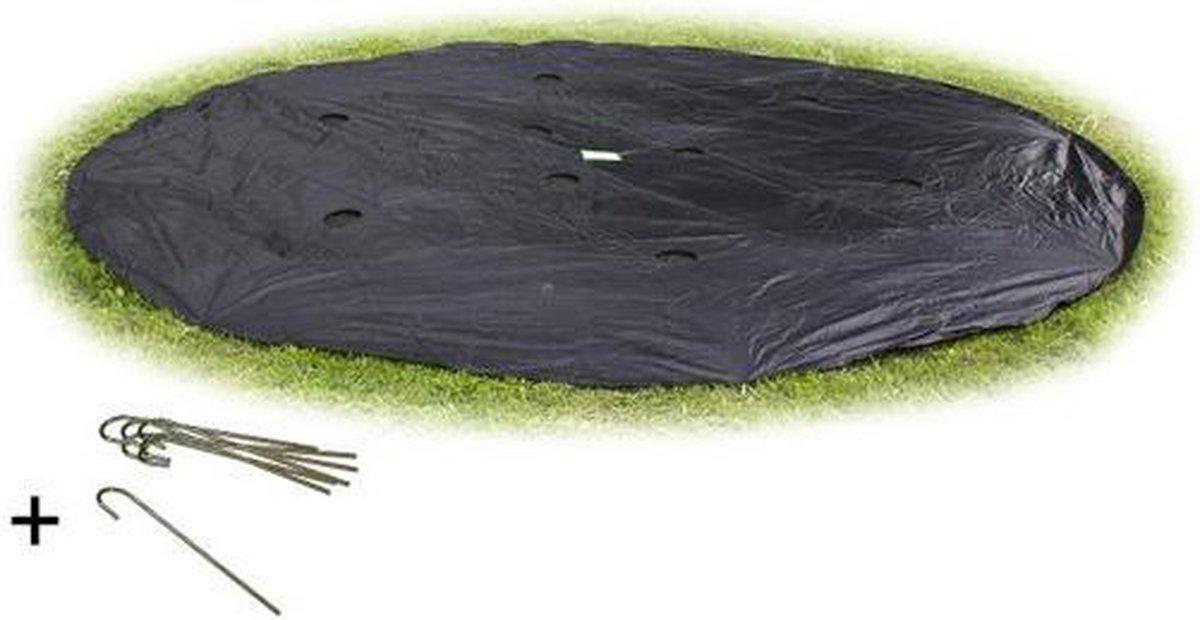 EXIT groundlevel trampoline afdekhoes ø427cm