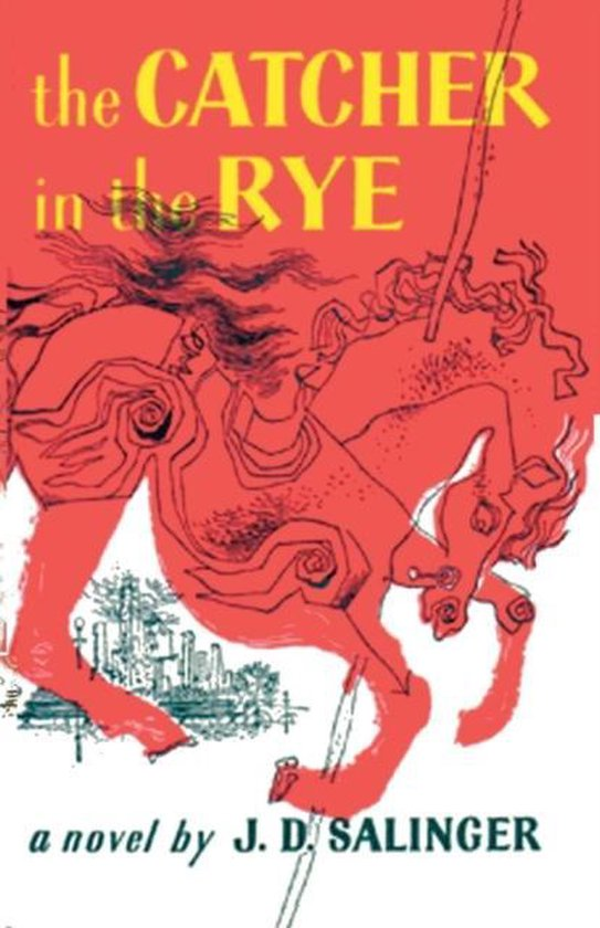 Boek cover The Catcher in the Rye van j. d. salinger (Paperback)