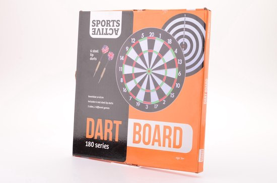 Thumbnail van een extra afbeelding van het spel Sports Active Paperflock - Dartbord