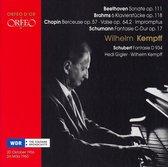 Schumann, Chopin +; Wilhelm Kemp