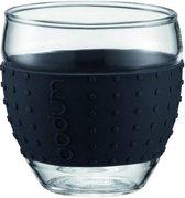 Bodum Pavina Glas - 0.35 l - 2 stuks - Zwart