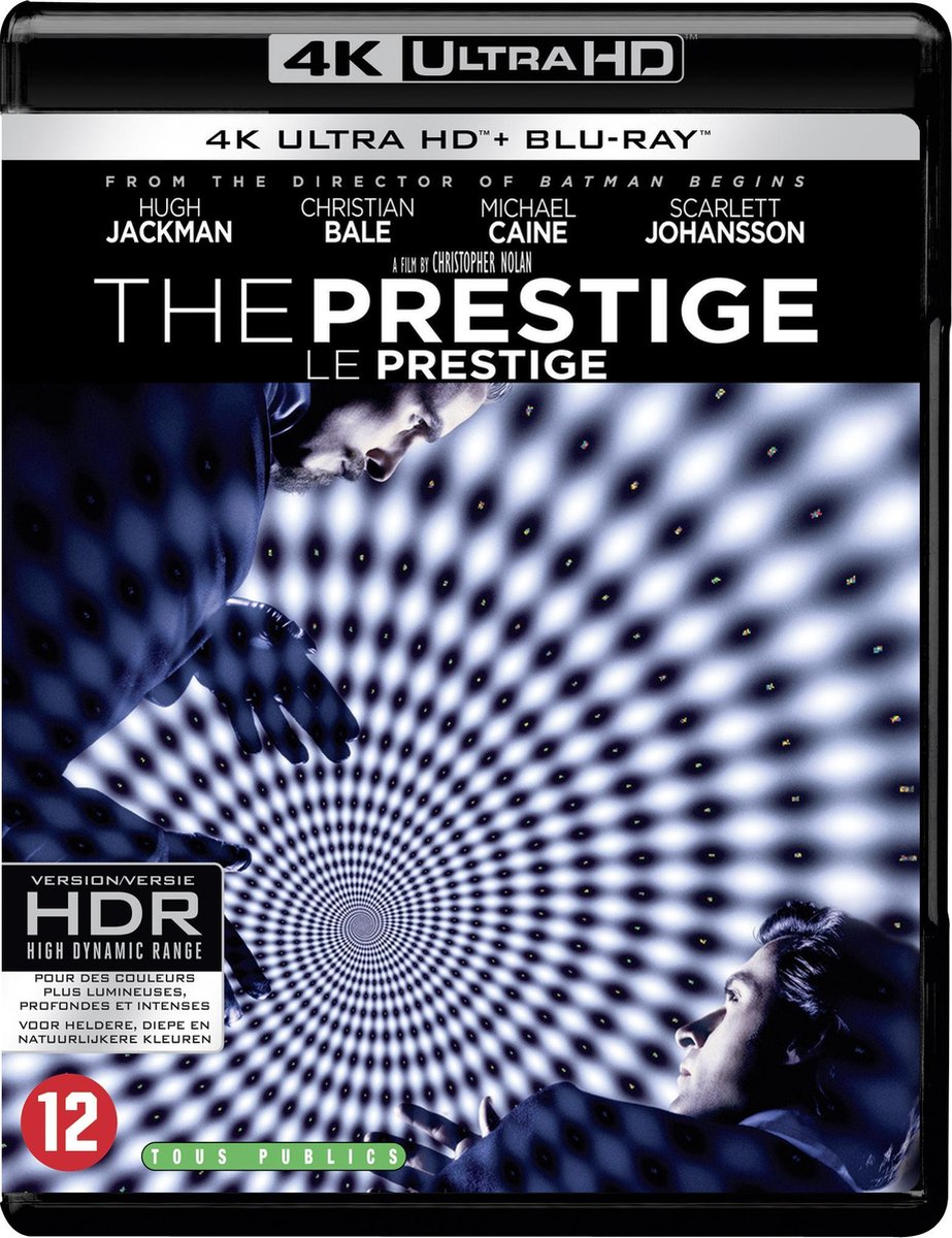 The Prestige (4K Ultra HD Blu-ray)-