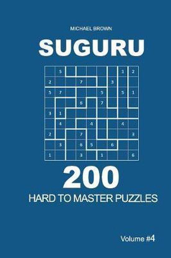 Suguru - 200 Hard to Master Puzzles 9x9 (Volume 4)