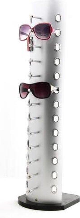 Zonnebrillen display voor 13 brillen © Pippashop