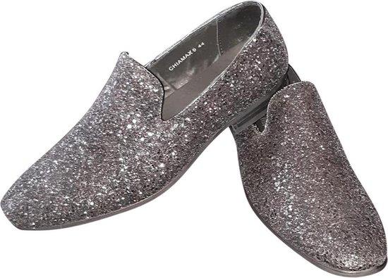 Heren glitter schoen, zwart