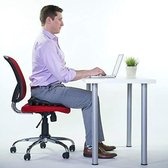Backjoy SitzRight Cushion Zwart - Rugsteun Zithouding Bureaustoel Auto - Rugpijn Onderrug