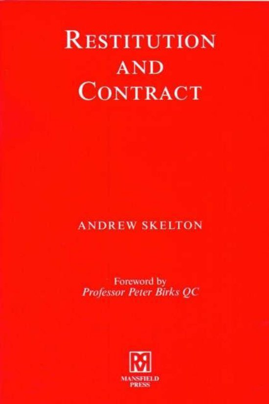 Restitution and Contract